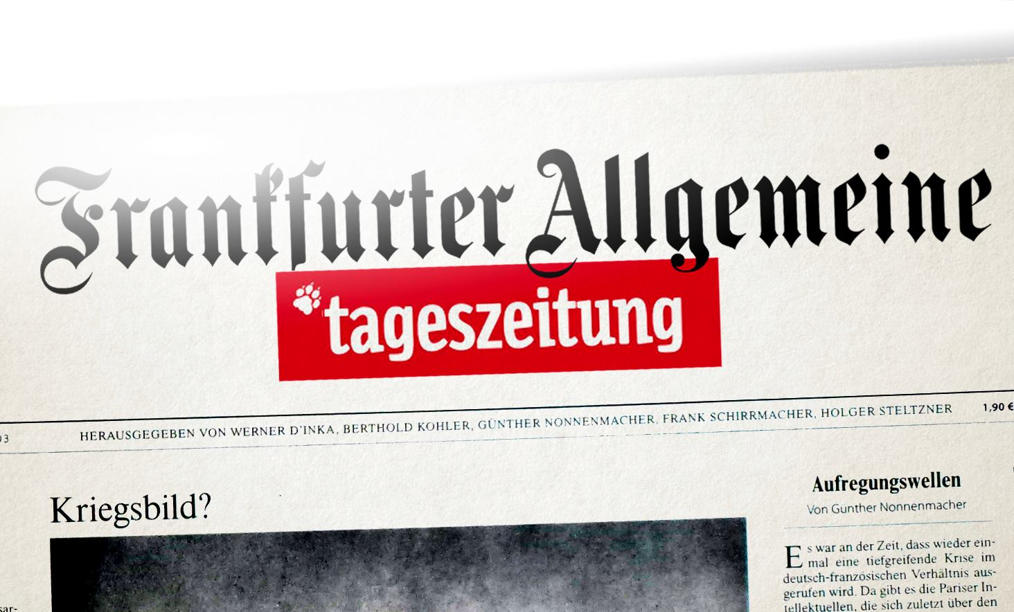 Neues Schlachtschiff im deutschen Zeitungsmarkt: FATZ
