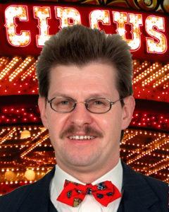 Will Zirkusdirektor werden: Der Pausenclown Ralf Stegner