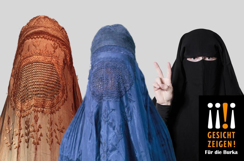 Zeigen Gesicht gegen Intoleranz: Deutsche Prominente (Wer hier abgebildet ist, ist der Redaktion leider nicht bekannt)