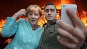 Hauptsache ein freundliches Gesicht: Bundeskanzlerin Dr. Angela Merkel