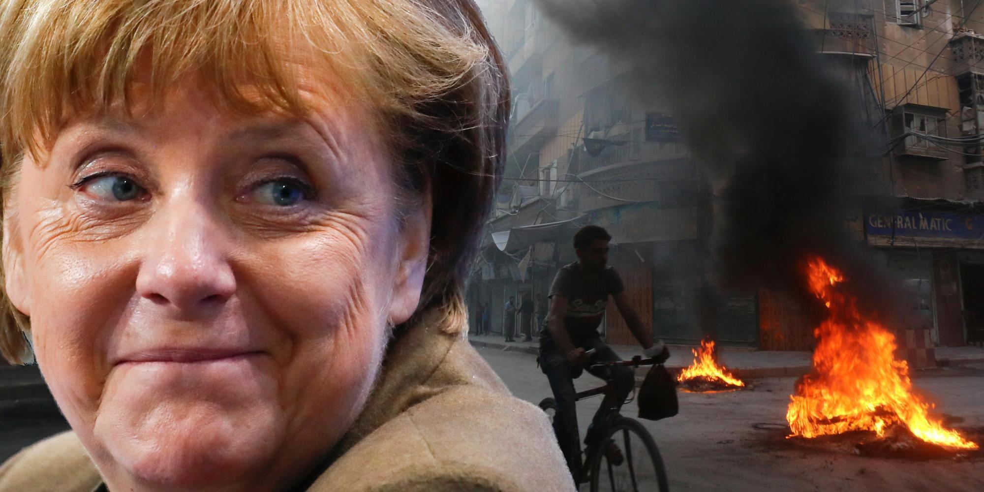 Macht selbst lieber in Italien Urlaub: Angela Merkel